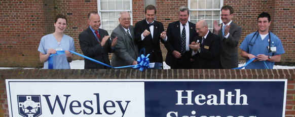 Health Sciences Building Ribbon Cutting